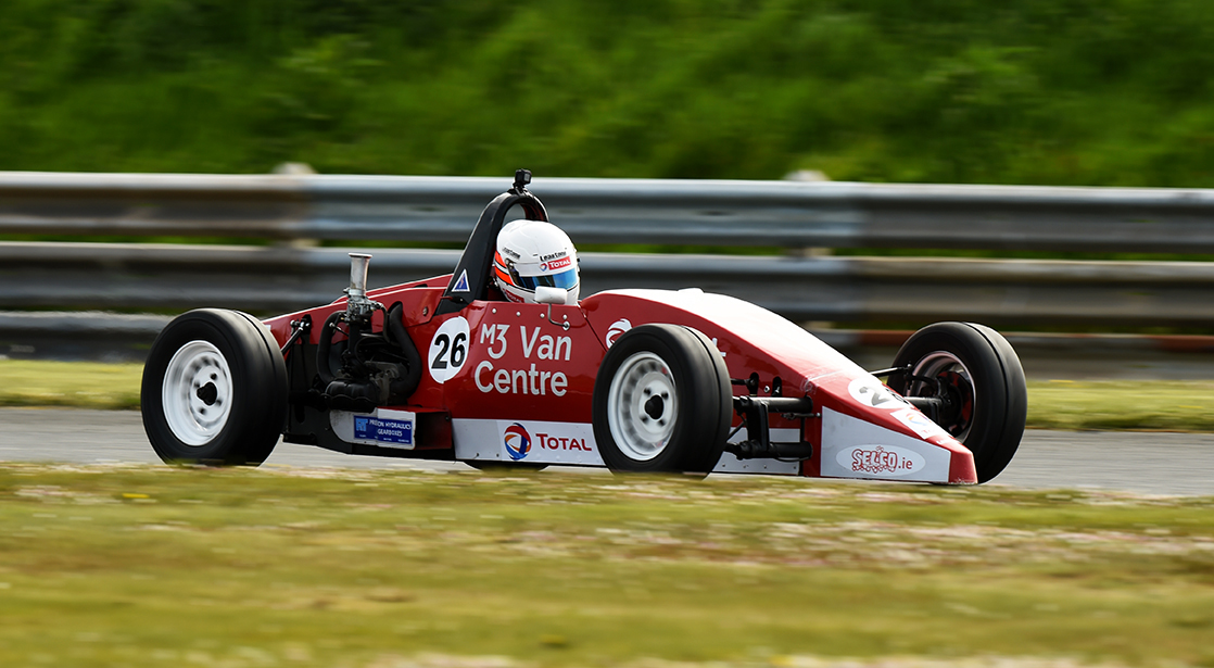 12-05-2019; Paul Heavey, Leastone, on his way to winning round 3 of the Selco Formula Vee Championship race at Bishopscourt. Leinster Motor Club National Car Races. Bishopscourt, Co. Down. Photo Barry Cregg